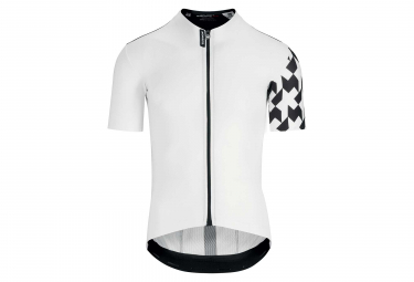 Assos Equipe RS Aero Short Sleeves Jersey Holy White