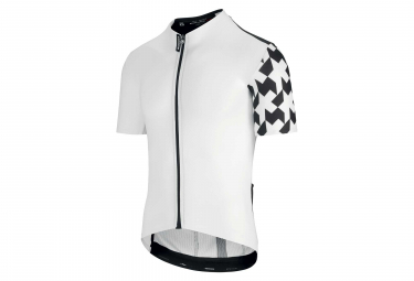 Maillot Manches Courtes Assos Equipe RS Aero Blanc Holy