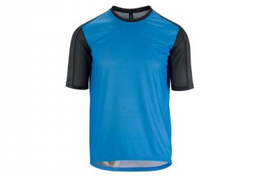 Assos Trail Short Sleeves Jersey Corfu Blue