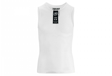 Assos Skinfoil Summer Sleeveless Baselayer Holy White