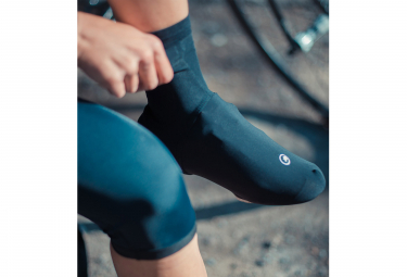 Assos Assosoires Spring Fall Shoe Covers Black Series