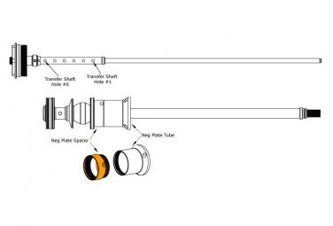Entretoise de Débattement Fox Racing Shox pour Fox 36 Float (10 mm)