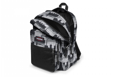 Eastpak Sac a Dos Pinnacle Upper East Stripe Blanc Noir