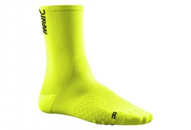 Calcetines Mavic Comete Sock - Jaune / Noir