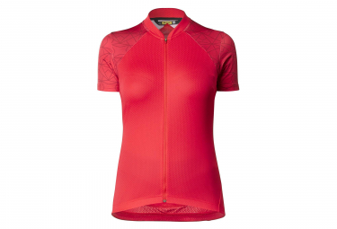 MAVIC Sequence Woman SS Jersey Graphic-Lollipop / Rojo