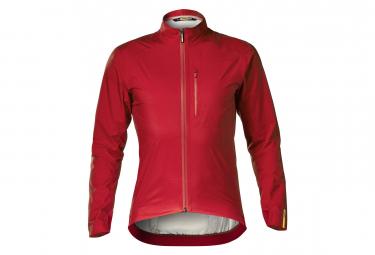 MAVIC Jacket Essential H2O Long Sleeves Jacket Red