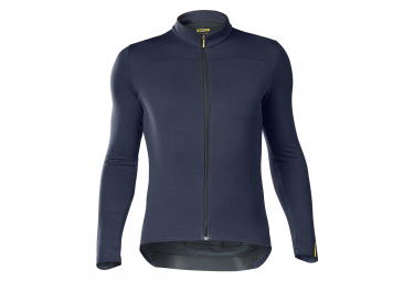 MAVIC Essential Merino Long Sleeves Jersey Eclipse / Dark Grey
