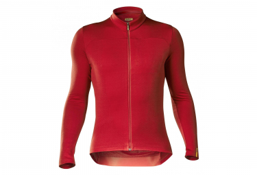 MAVIC Essential Merino Long Sleeves Jersey Red