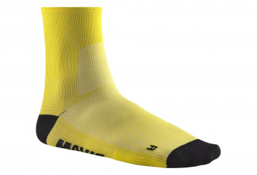 MAVIC Socks Essential Mid Sock-Yellow