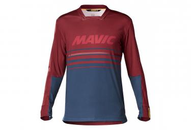MAVIC Deemax Pro Long Sleeves Jersey Red Poseidon