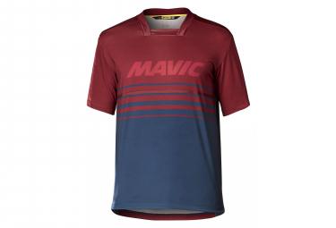 Maillot Manches Courtes Mavic Deemax Pro Rouge