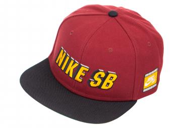 Nike SB TEAM Rouge Noir Or