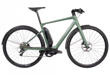 Vélo de Ville Électrique BMC Alpenchallenge AMP City LTD Shimano Metrea 11V Vert 2019
