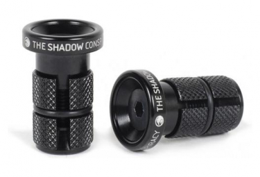 The Shadow Conspirancy Deadbolt Bar Ends Slim Black