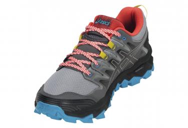 Chaussures de Trail Asics Fuji-trabuco 7 Gris / Bleu