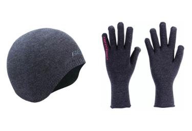 BBB Under Helmet + Gloves