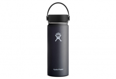 Hydro Flask Gourd 532ml Wide Mouth / Flex Cap Black