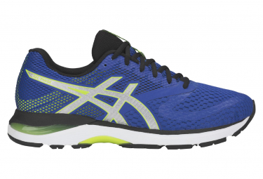 Asics run gel pulse 10 bleu jaune homme 43 1 2