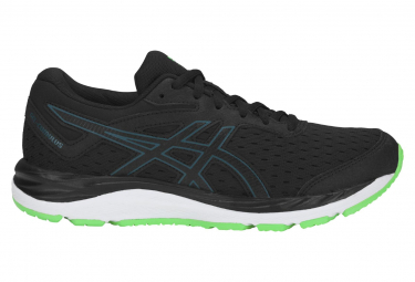 Asics Gel Cumulus 20 GS Black Green Enfant