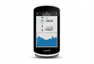 Garmin Edge 1030 GPS Computer with Garmin Premium Heart Rate Monitor (Soft Strap)