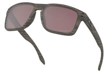 Lunettes Oakley Holbrook Woodgrain Collection - Prizm Daily Polarized OO9102-B7