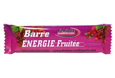 ENERGIE FRUITEE RAISIN-CRANBERRIES