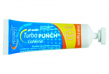 Energy Gel Fenioux Turbo Punch 3 Frutas Citricas