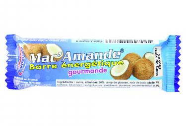 Energy Bar Fenioux Mac'Amande Coconut