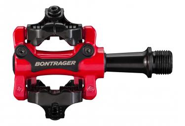 Paire de Pédales Bontrager Comp MTB Rouge