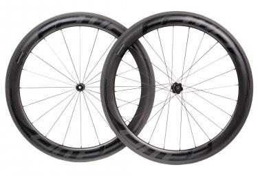 Paire de roues fast forward f6r fcc carbon dt350 sp 9x100 9x130mm corps shimano sram noir mat