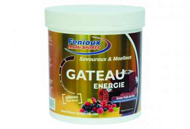 Energy Cake Fenioux Energie Red Fruits 400g