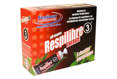 FENIOUX Multi-Sports Pack Respilibre Energy 3 (6 gel)