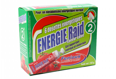 FENIOUX Multi-Sports Pack RAID Energy (6 gel)