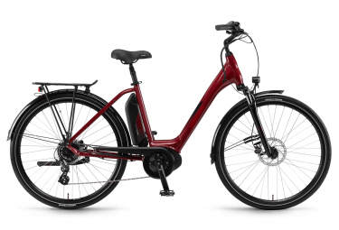 Winora Sima 7 300 Womens E-Bike  Rouge