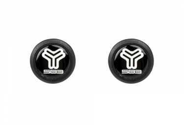 SB3 Candy Plug Bar Caps (Pair) Black