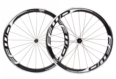 Fast Forward Wheelset F4R Carbon DT350 SP | 9x100 - 9x130mm | Body Shimano/Sram | Black/White
