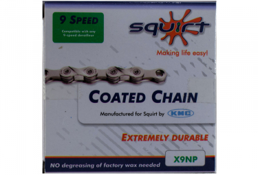 SQUIRT KMC chain infused with Squirt X9 NP