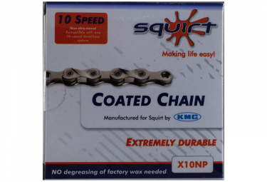 Squirt chaine kmc infusee de squirt x10 np