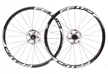 Fast Forward Wheelset F3D FCC Carbon DT240 SP | 12x100 - 12x142mm | Body Shimano/Sram | Black/White