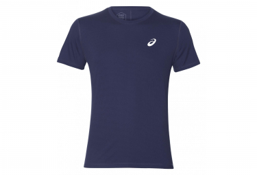 Asics Short Sleeves Shirt Silver Blue