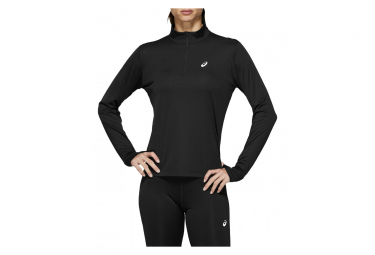 Asics Women's Long Sleeves Jersey Silver Black