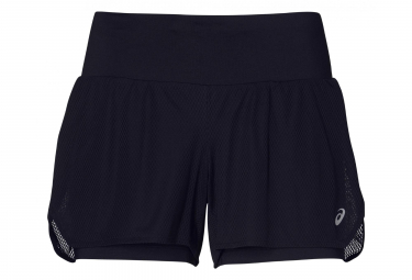 Asics Women's Short 2-in-1 3.5in Cool Black