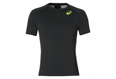 Asics Short Sleeves Jersey Track and Field Black