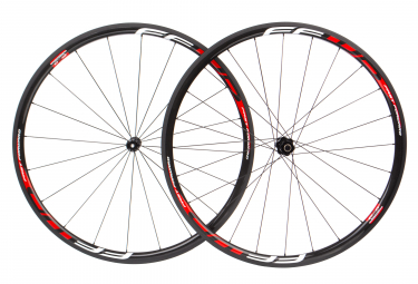 Fast Forward Wheelset F3R FCC Carbon DT350 SP | 9x100 - 9x130mm | Body Shimano/Sram | Black/Red