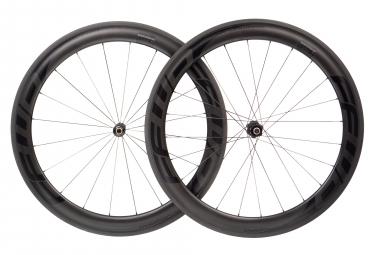 Paire de roues fast forward f6r fcc carbon dt240s sp 9x100 9x130mm corps shimano sram noir