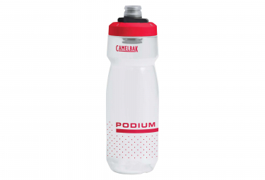 Camelbak Podium Bottle 0.71 L Clear Fiery Red