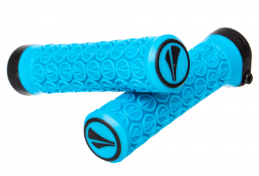 SDG Slater Junior Lock-On Grips Cyan Blue