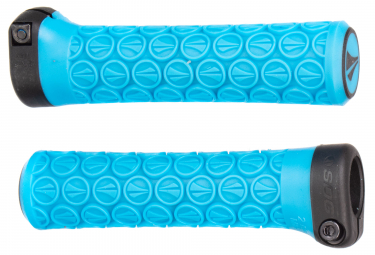 Paire de Grips SDG Slater Junior Lock-On Bleu