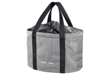 Sacoche de guidon klickfix shopper pro gris
