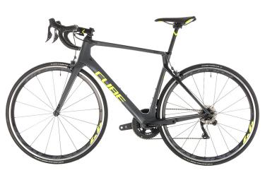 Cube Agree C:62 SL Road Bike Shimano Ultegra Di2 11S 2019 Grey Neon Yellow